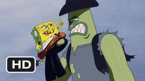 The SpongeBob SquarePants Movie (9 10) Movie CLIP - Dennis Always Gets His Man (2004) HD