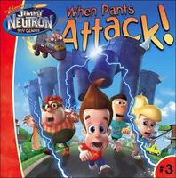 Jimmy Neutron When Pants Attack! Book