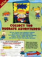Rugrat Comic Adventures print ad NickMag Nov 1997