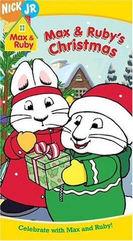 File:Max & Ruby Max & Ruby's Christmas VHS.jpg