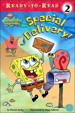 SpongeBob Special Delivery! Book