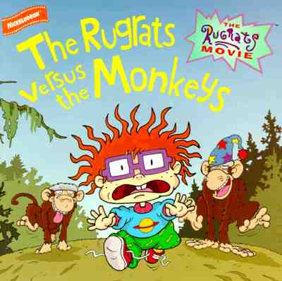 File:Rugrats Movie The Rugrats Versus the Monkeys Book.jpg