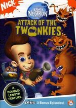 JimmyNeutron AttackOfTheTwonkies DVD