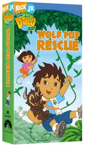 File:Go Diego Go! Wolf Pup Rescue VHS.jpg