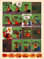 Scene but Not Heard Nick Mag comic May 2005