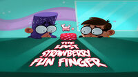 The Last Strawberry Fun Finger