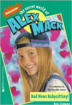 File:The Secret World of Alex Mack Bad New Babysitting! Book.jpg