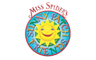 File:Miss Spider's Sunny Patch Friends Transparent Logo.png