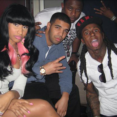 Nicki, Drake and Lil Wayne