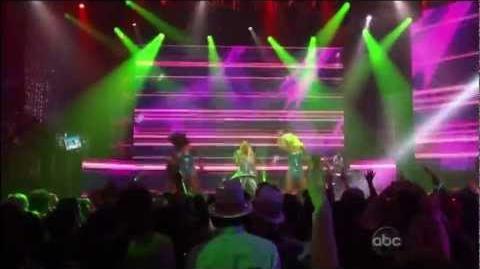 Nicki Minaj - Turn Me On (2011 New Year's Rockin Eve)
