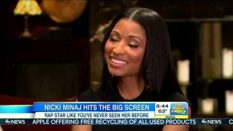 Nicki Minaj Talks About The Other Woman (Good Morning America)