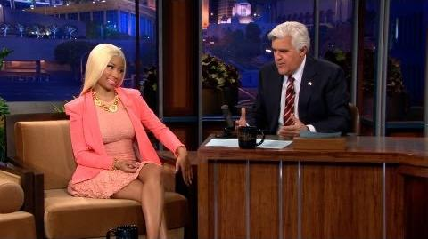 Nicki Minaj On Feud With Mariah Carey - The Tonight Show with Jay Leno