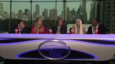 American Idol - Press Conference with Nicki Minaj, Keith Urban & Mariah Carey