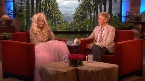 Nicki Minaj Catches Up with Ellen