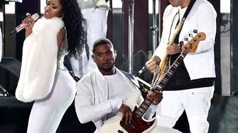 Usher Performance at VMA's 2014 (ft