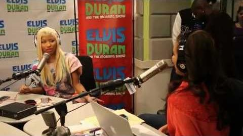 Nicki Minaj Elvis Duran Interview Part 2