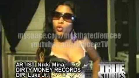 Nicki minaj -Dead Wrong Freestyle(True Stories DvD)