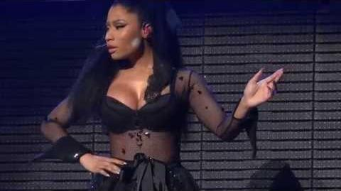 Nicki Minaj - The Crying Game (Brussels, Belgium - The Pink Print Tour, Palais 12 - HD)