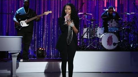 Nicki Minaj Performs 'Bed of Lies'