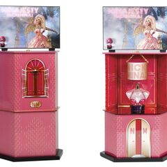 Minajesty tester display for stores