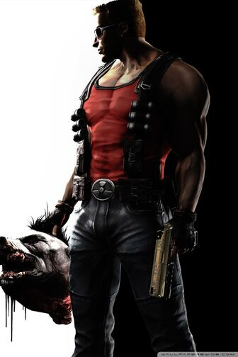 Duke nukem forever game-wallpaper-640x960