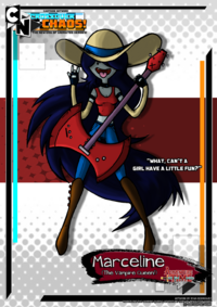 Cartoon network marceline by neweraoutlaw-d6rlgdz