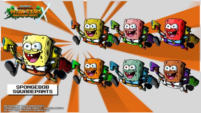 File:Nicktoons spongebob squarepants palette swap by neweraoutlaw-d5qom0m.png