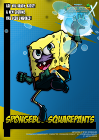 Nicktoons spongebob squarepants alt costume by neweraoutlaw-d6qmln9