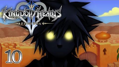 DARKNESS INSIDE - Let's Play - Kingdom Hearts 2 Final Mix HD - 10 - Walkthrough Playthrough
