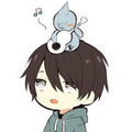 HorohoroDori with his mascot