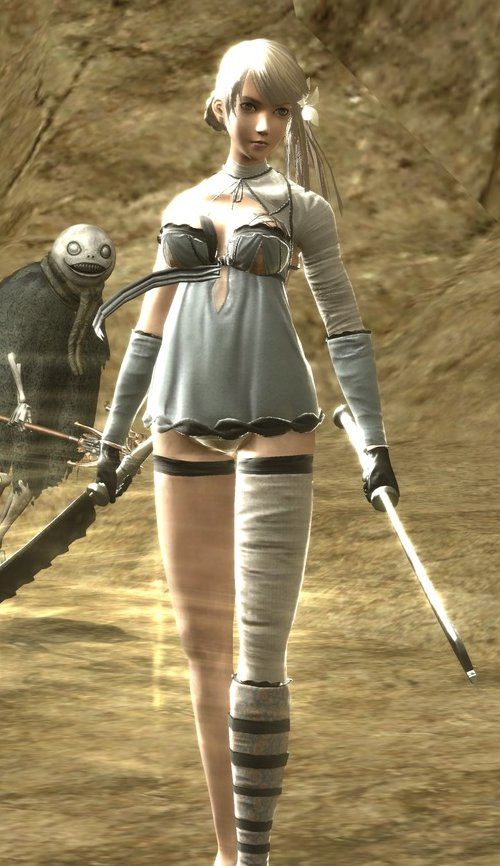 how to start b playthrough nier