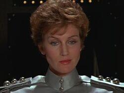 Leslie Bevis in Spaceballs Comanderette Zircon