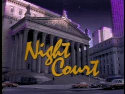 Night Court opening