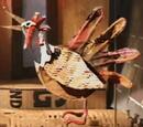 Paper-Mache Chicken