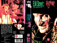 NIGHTMARE ON ELM STREET 4 the making of PAL VHS K-TEL VIDEO BRITAIN 1989 - found by IALOCINNICOLAI IALOCIN NICOLAI
