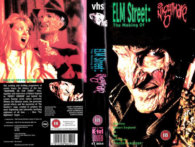 File:NIGHTMARE ON ELM STREET 4 the making of PAL VHS K-TEL VIDEO BRITAIN 1989 - found by IALOCINNICOLAI IALOCIN NICOLAI.jpg