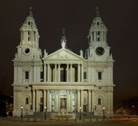 655px-St Pauls Cathedral from West - Feb 2007