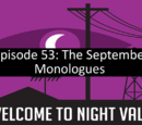 The September Monologues