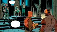 Nightwing 4 - Raptor's meeting with Kobra