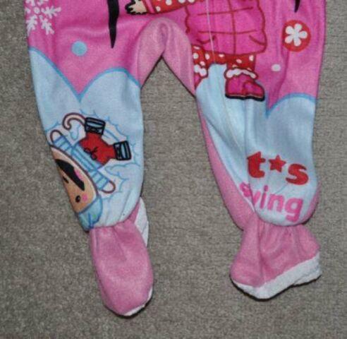 File:Girls Nick Ni Hao Kai-Lan 1PC Pink Footed Blanket Flannel Pajamas (2).jpg