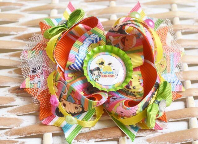 File:Yellow Orange Ni Hao Kai-Lan Inspired Boutique Hair Bow Clip.jpg