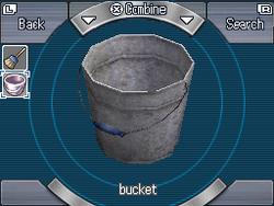 Bucket-empty