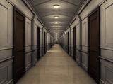C-deck long-hallway-of-rooms