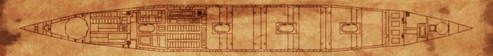 Bottom deck map