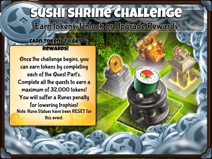 Sushi Shrine Challenge