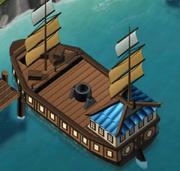 Ship lvl 1