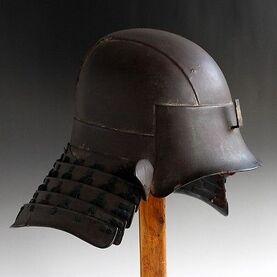 Antique-japanese-edo-authentic-samurai-zunari-kabuto-armor-iron-helmet-b247e28feb0e27784213336ed714bdbf