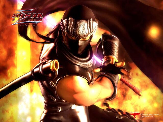 File:Ryu with true dragon sword.jpg