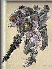 NG2 Art Enemy Mecha Soldier