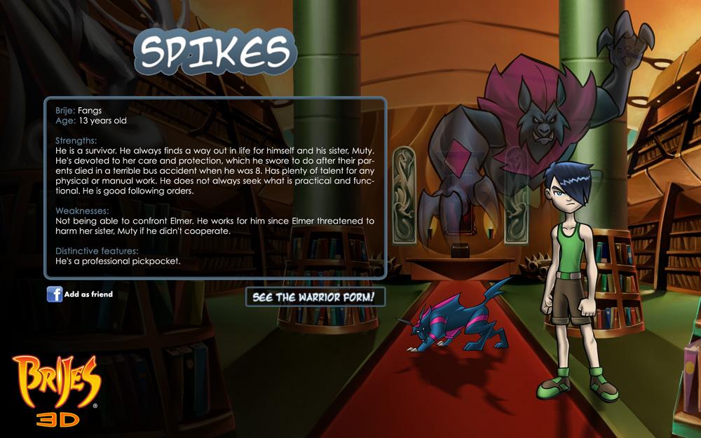 Spikes-card